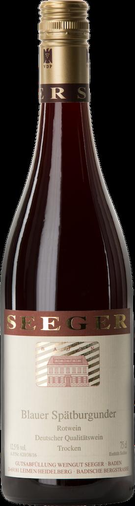 Weingut Seeger Blauer Spatburgunder